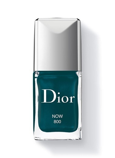 Dior Green Nail Polish Gel Shine 800 Now Oje Turkuaz
